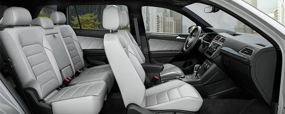 Volkswagen Tiguan Interior Side View