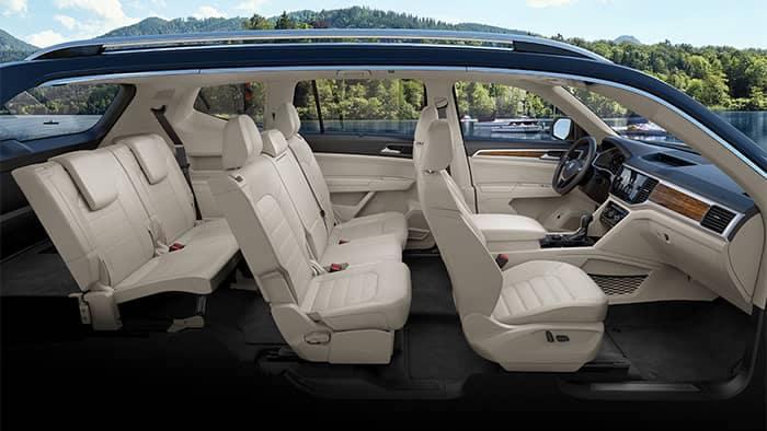 Volkswagen Atlas Interior Seating Configurations